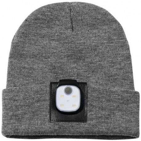 gadżety firmowe na nowy rok czapka z latarką