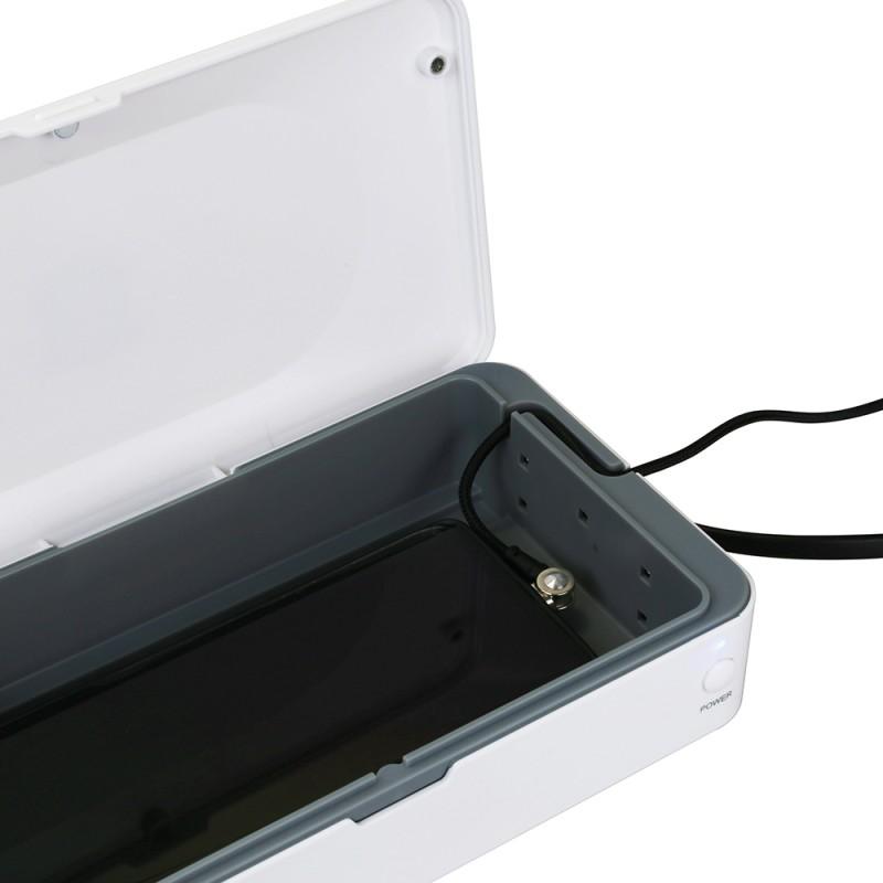 gadżety firmowe do smartfonu pudełko dezynfekujące ładowarka indukcyjna