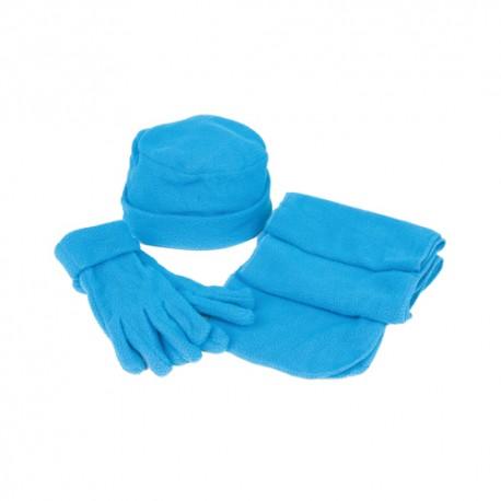 zimowe gadżety firmowe zestaw czapka szalik rękawiczki