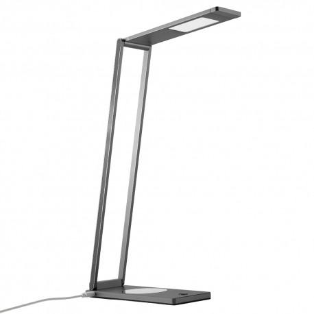 gadżety reklamowe do biura lampka na biurko z ładowarką indukcyjną