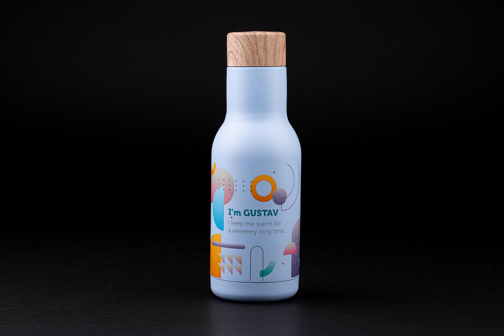 butelka termiczna gustaw toppoint gadżety firmowe z logo