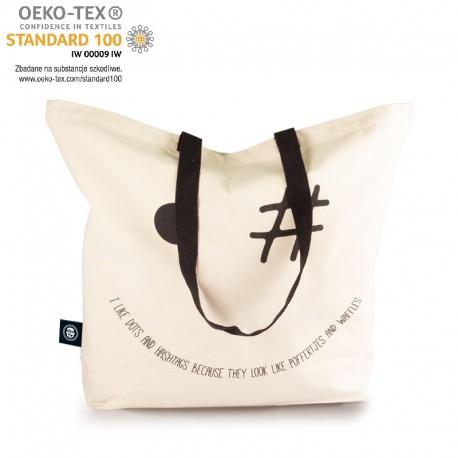 gadżety ekologiczne z logo torba bawełniana mister bags