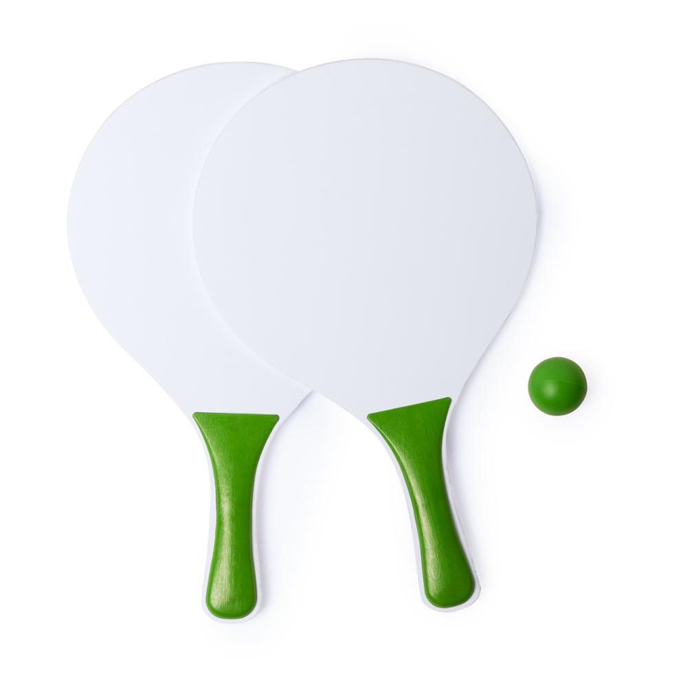 wakacyjne gadżety z logo zestaw do badmintona