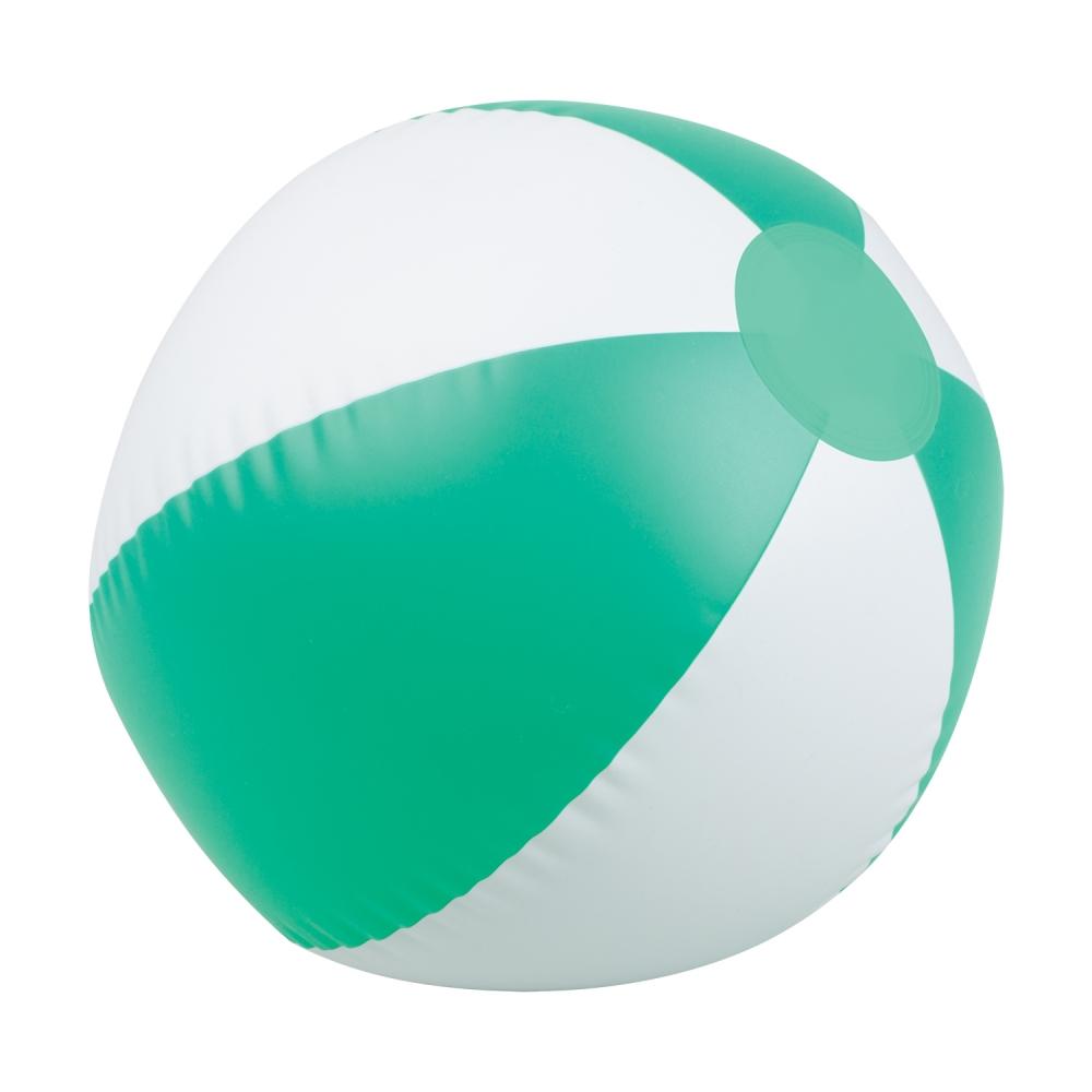 wakacyjne gadżety z logo piłka plażowa