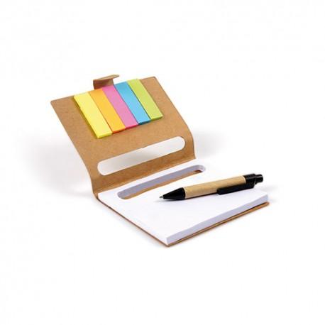 Gadżety na Targi Pracy notes z karteczkami samoprzylepnymi