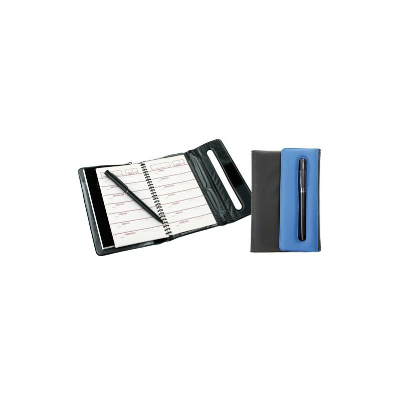 Gadżety na konferencje i szkolenia organizer z długopisem