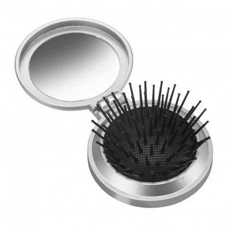 Gadżety firmowe dla branży beauty podróżna szczotka do włosów
