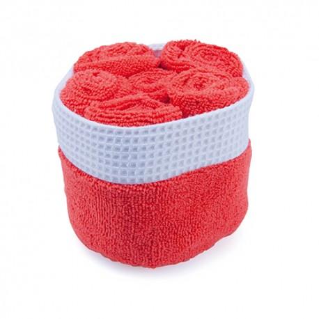 Gadżety firmowe dla branży beauty zestaw ręczników