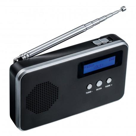 Muzyczne gadżety z logo Twojej firmy przenośne radio cyfrowe Reflects