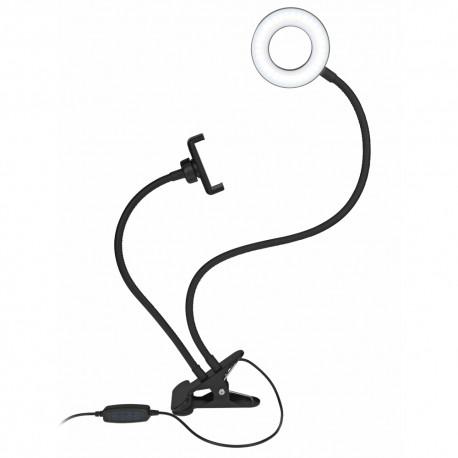 Gadżety na targi pracy lampa z uchwytem