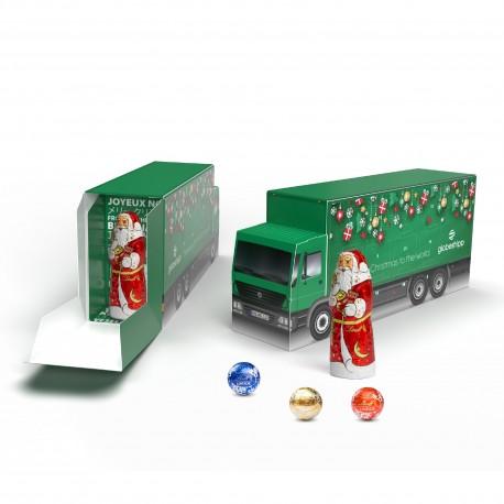 Słodkie święta z Magna Sweets eko kalendarz adwentowy ciężarówka lindt lindor