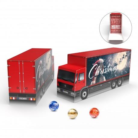 Słodkie święta z Magna Sweets eko kalendarz adwentowy ciężarówka