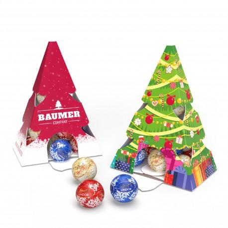 Słodkie święta z Magna Sweets świąteczna choinka Lindt Lindor